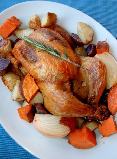 sunday roasted herbed chicken | Chicken | Pinterest