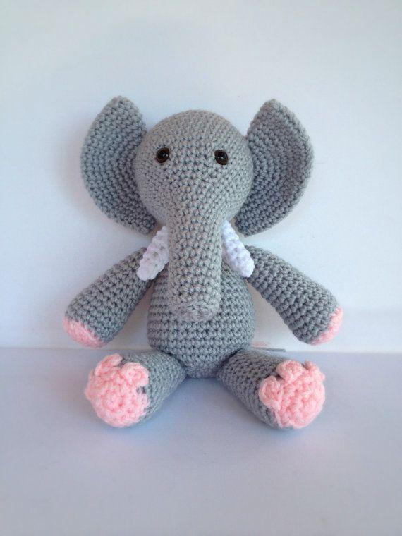 Crocheting Stuffed Animals : Crochet Stuffed Animal Elephant