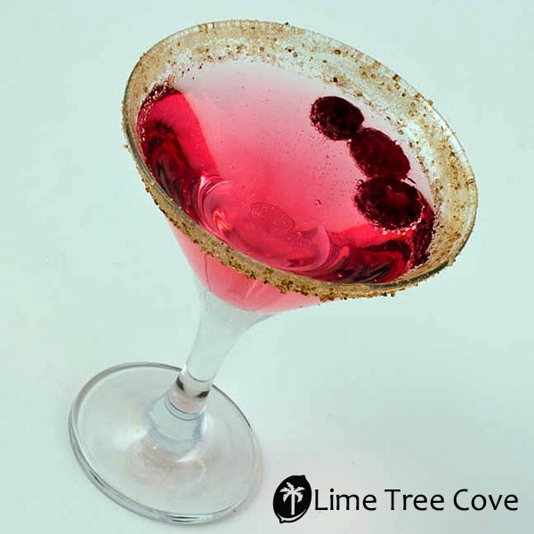 Chocolate Raspberry Heart-tini (Martini) | Levitate Thine Chalice | P ...