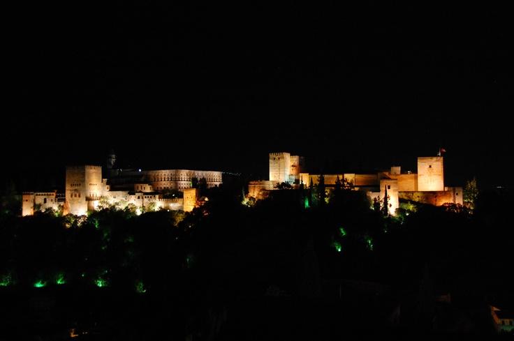 A Alhambra desde o miradouro de San Nicolas