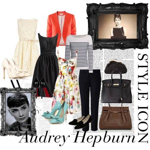 Audrey Hepburn Style Window Shopping Pinterest
