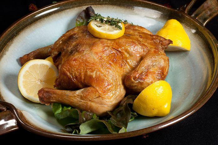 Fast Roast Chicken with Lemon Herbs | f♡♡d | Pinterest