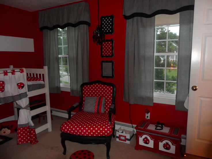 ladybug girl bedroom girls bedroom decor pinterest