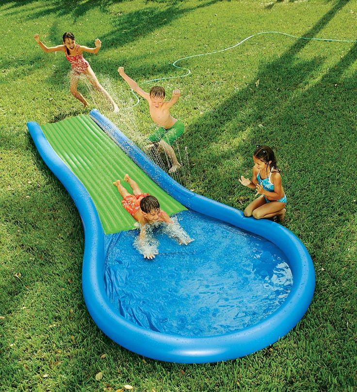 super water slide sonoma backyard pinterest