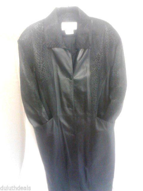 Charles klein leather jacket