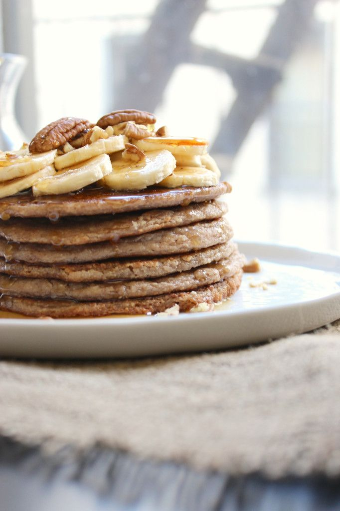 Banana Pecan Pancakes | Breakfast | Pinterest