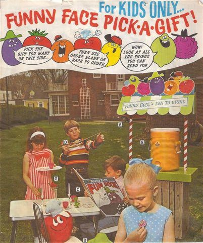 Funny Face Kool Aid Stand