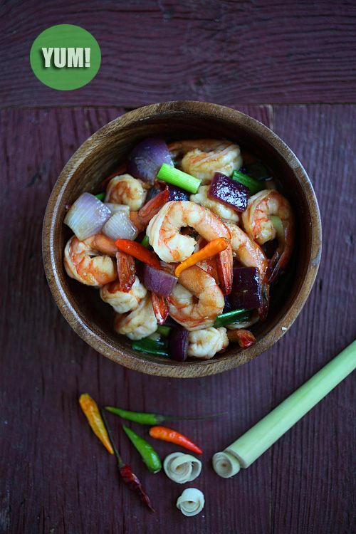 Lemongrass Shrimp | Lemongrass Shrimp Recipe | Easy Asian Recipes at ...