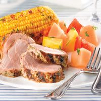 Grilled Honey-Mustard Pork Tenderloin | recipes: pork | Pinterest