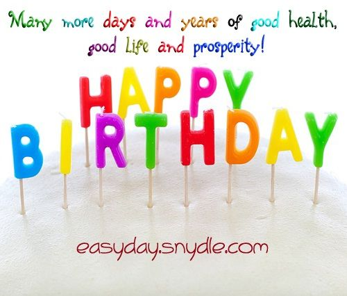 Happy Birthday Wishes and Messages