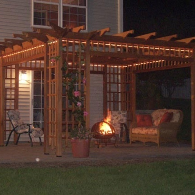 Japanese Pergola Easy Tdiy Outdoors Pinterest