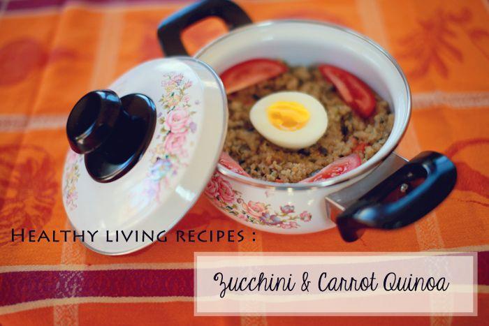 carrot and chickpea quinoa salad cheesy zucchini quinoa zucchini ...