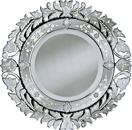 round venetian mirror   Bling for the Home: Crystal, Mirrors and Silv ...