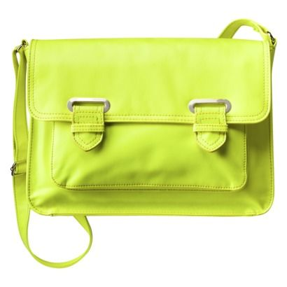 Neon Crossbody Bag from Target