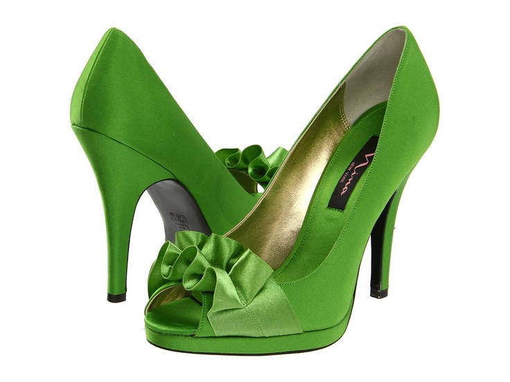 Green Shoes Under White Dress Legit Wedding Stuff Exclusive Bateau