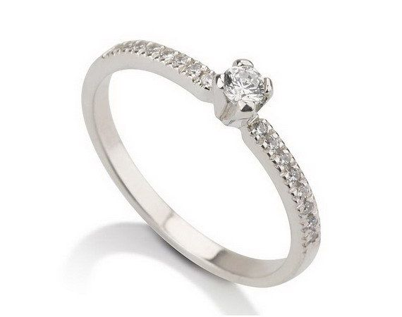 engagement ring promise ring 925 sterling silver couples