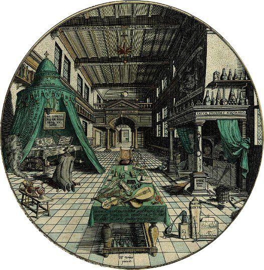 alchemists laboratory