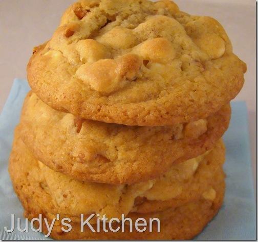Orange-Pecan-White Chocolate Chip Cookies