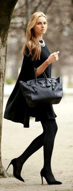 Ralph Lauren soft Ricky Bag in black with @Valentina Vitols Bello Vitols Bello zelyaeva