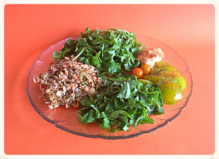 Summer raw and sprouted salad | Eat Your Heart Out. | Pinterest