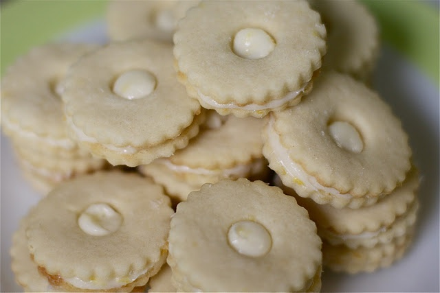 Creamy Lemon Sandwich Cookies | Cookies | Pinterest