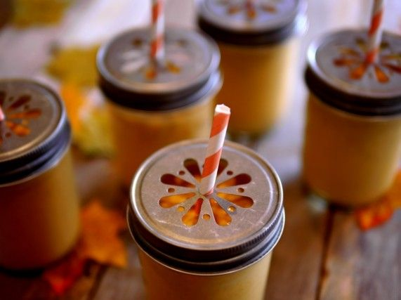Creamy Pumpkin Pie Smoothie For Two Recipes — Dishmaps