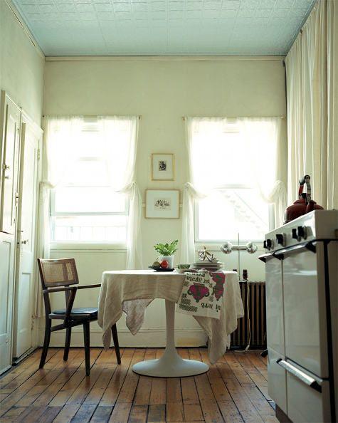 curtains, floor