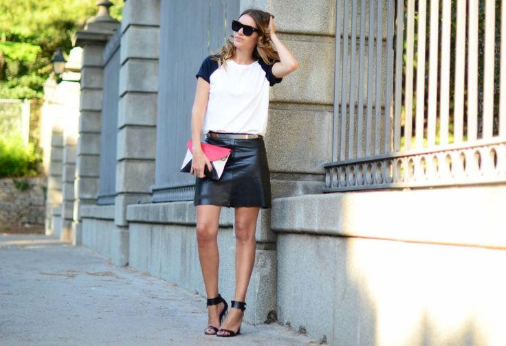 My Daily Style - Tricolor envelope