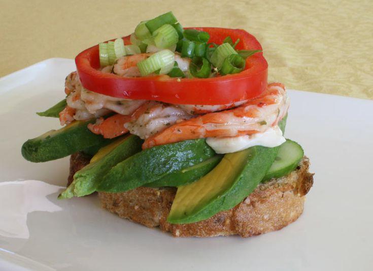 ... Cilantro Lemon Shrimp Sandwich by amazingsandwiches #Sandwich #Shrimp