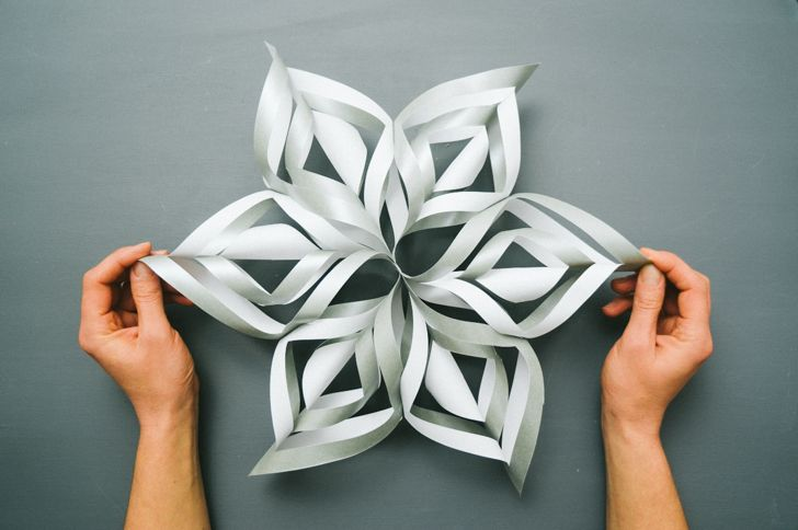 3d paper snowflakes Step by step instructions and photos for making a fabulous 3d paper snowflake.