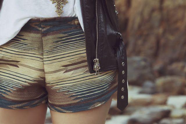 Navajo shorts.