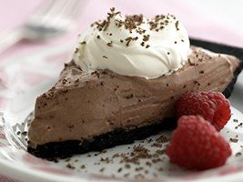 Healthified Triple Chocolate Pie - 4 points