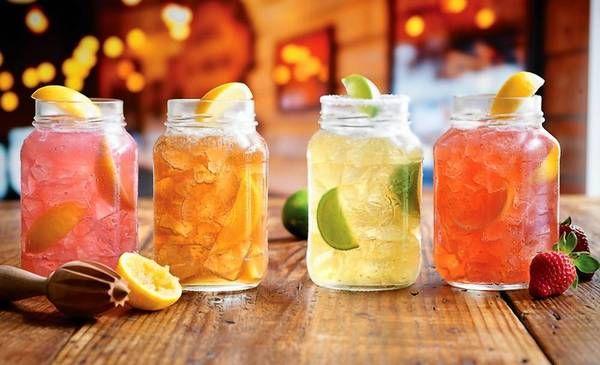 mason jar cocktails | Paola | Pinterest