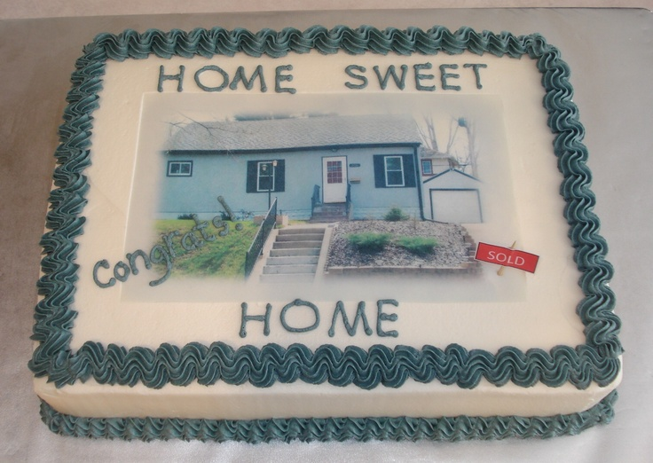 Cake Designs For Housewarming : Housewarming Cake Housewarming Ideas Pinterest
