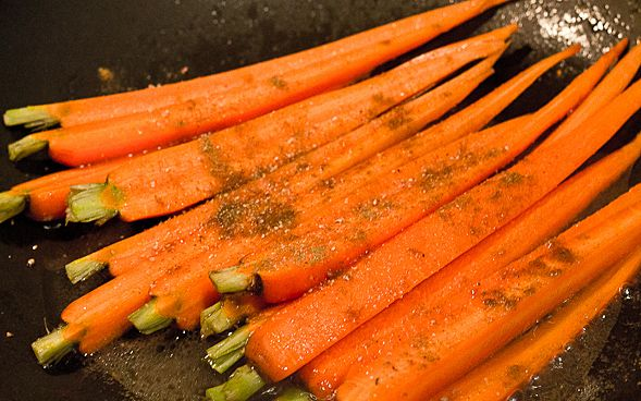 Spiced Carrots with Cumin and Fresh Ginger | Recipe