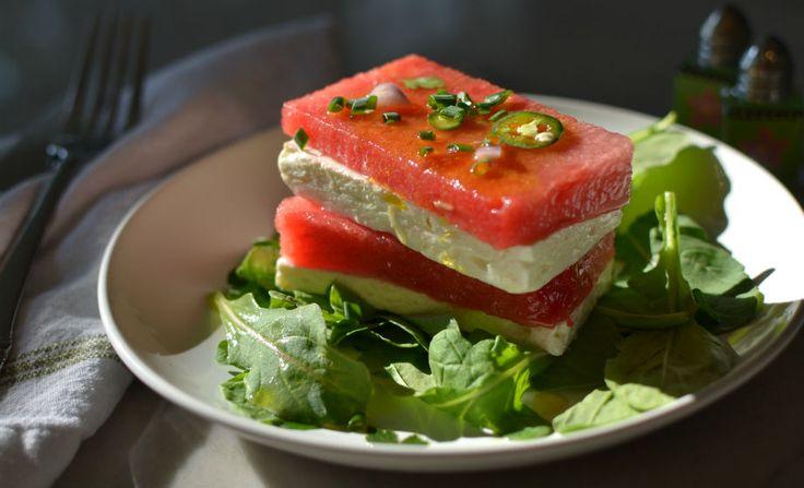 ... watermelon salad watermelon salad with feta or cotija watermelon salad