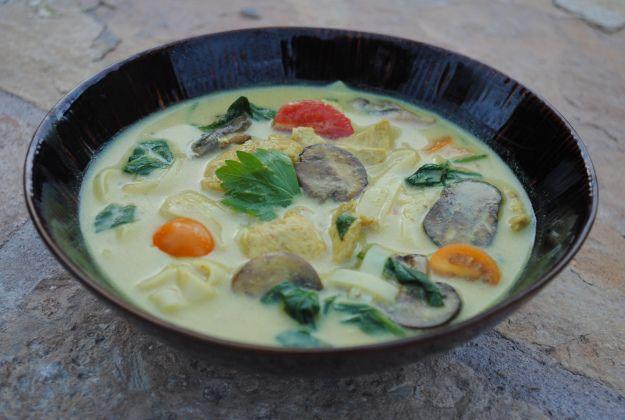 Coconut Curry Noodle Soup | Eats and treats | Pinterest