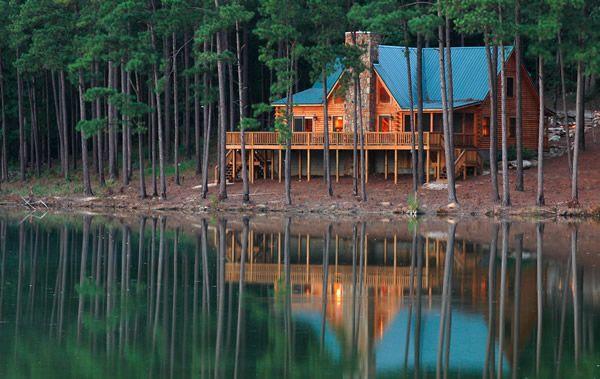 Lake View Cabin Five Star Plantation Outdoors Patios