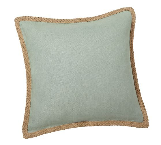 Pottery Barn Decorative Pillow Covers : Jute Braid Pillow Cover Pottery Barn DIY Home Decor/Ideas Pinte?