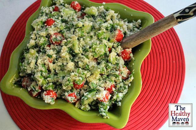 The Healthy Maven: Cauliflower Tabbouleh