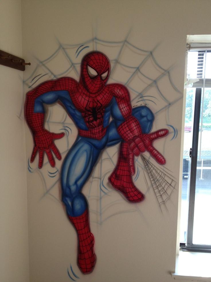 spiderman wall mural art pinterest spiderman wall stickers wall stickers ireland