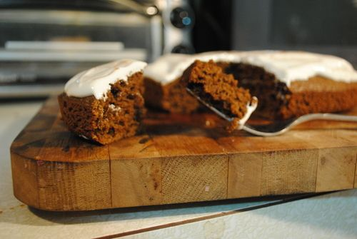 Gingerbread Cake with Marshmallow Fluff Frosting on A Collaborative ...