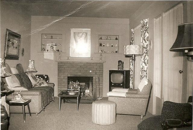 Best 1950S Living Room Vintage Living Pinterest 400 x 300