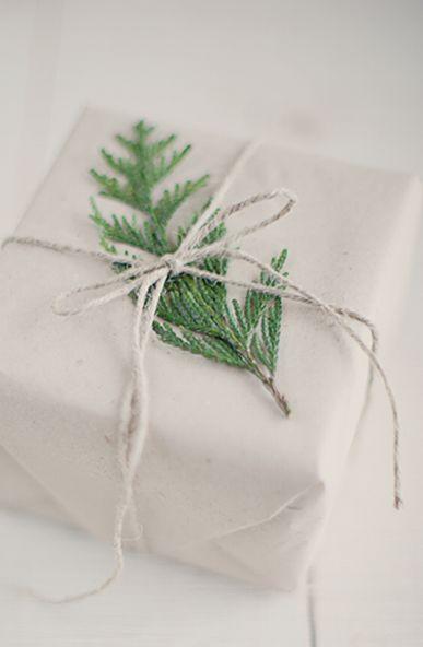 evergreen on white packaging