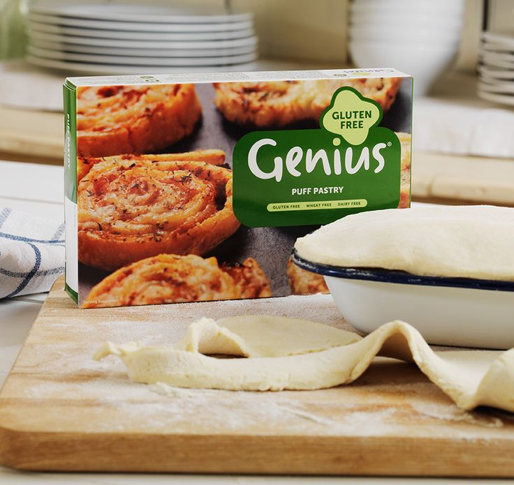 New Genius Puff Pastry July 2014 | gluten free | Pinterest