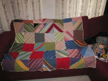 How to Crochet a Shawl Using Scrap Yarn