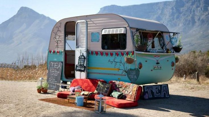 caravane tea une caravan and camping pinterest. Black Bedroom Furniture Sets. Home Design Ideas