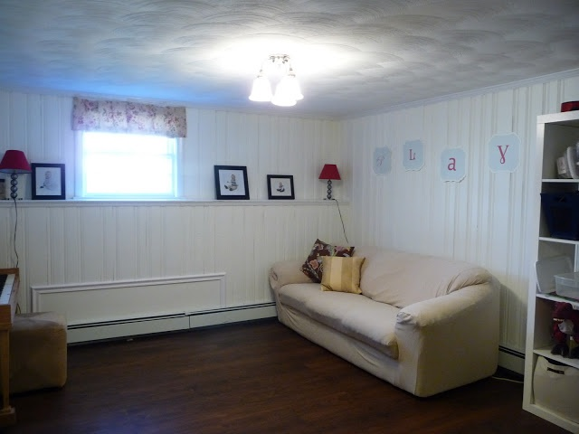 How i painted over wood panelling and lived to tell about it Painting paneling in basement