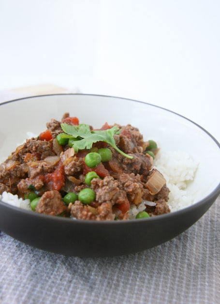 kheema: Indian ground beef with peas ***MADE a Variation of this - was ...