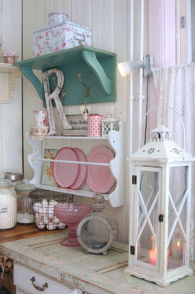 La casa de lavanda interiores en pastel - La case de l oncle paul ...